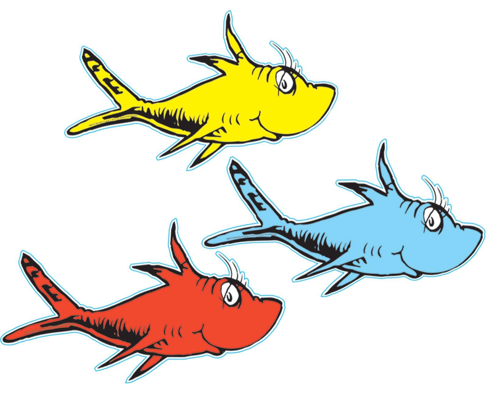 1600x1314 Dr. Seuss 1 Fish 2 Fish Cutouts