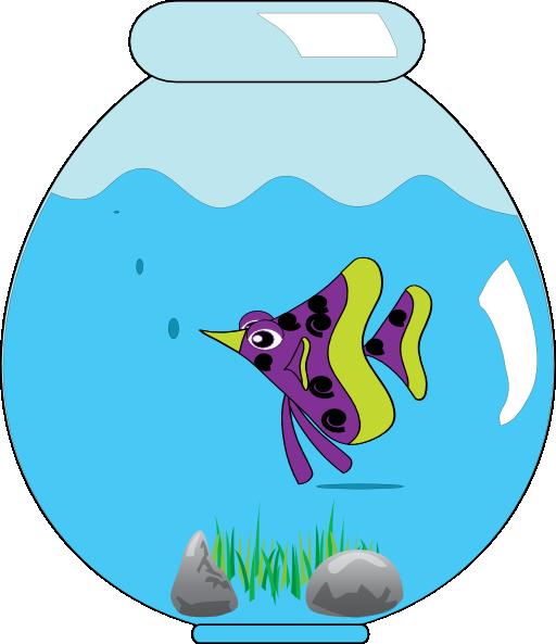 512x593 Fish Bowl Clipart Free Download Clip Art