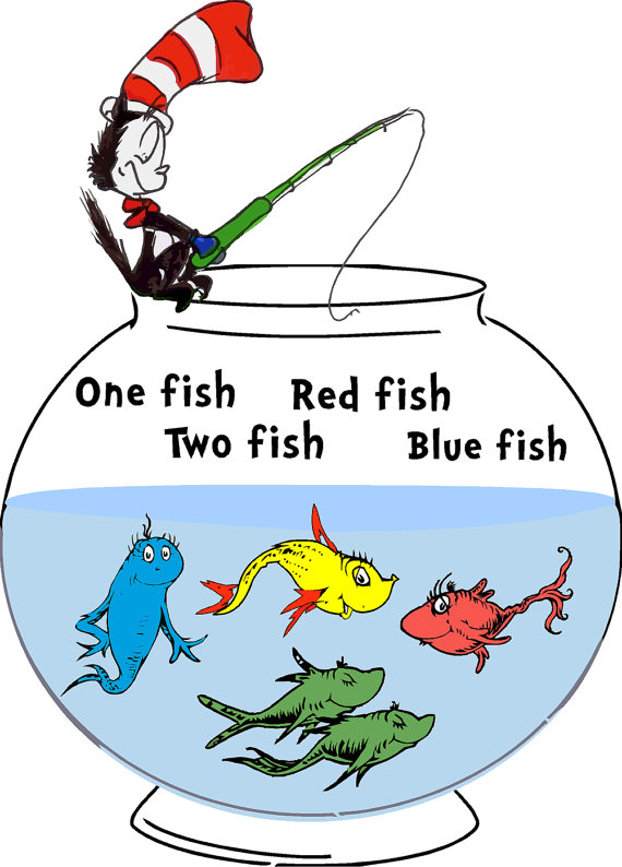 570x794 Seuss Fish One Fish Two T Shirt Red Fish Blue Fish Tee