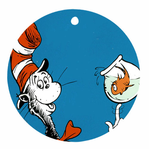 500x500 Dr Seuss One Fish Two Fish Clip Art