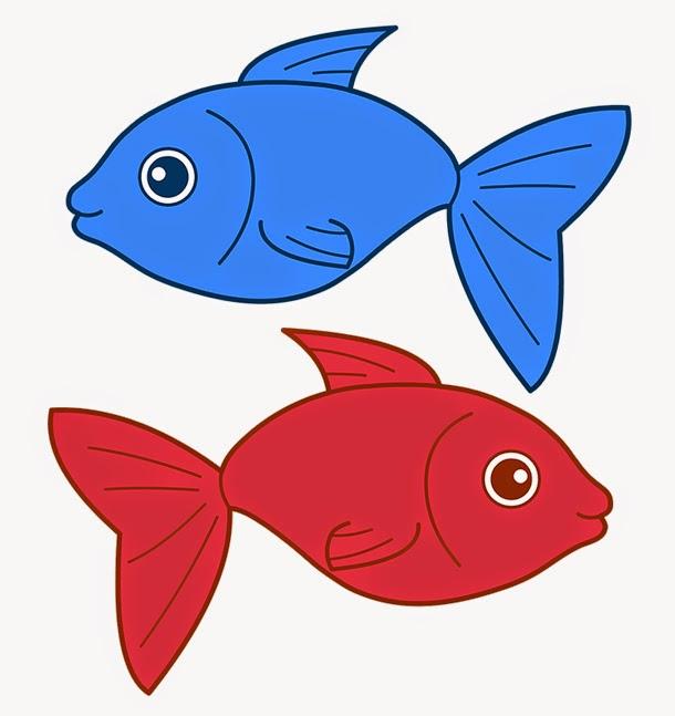610x647 Fish Blue Fish Clipart
