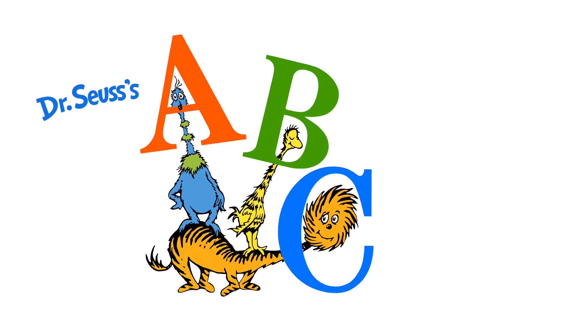 1920x1080 Dr. Seuss's Abc
