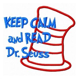 300x300 Keep Calm And Read Dr. Seuss