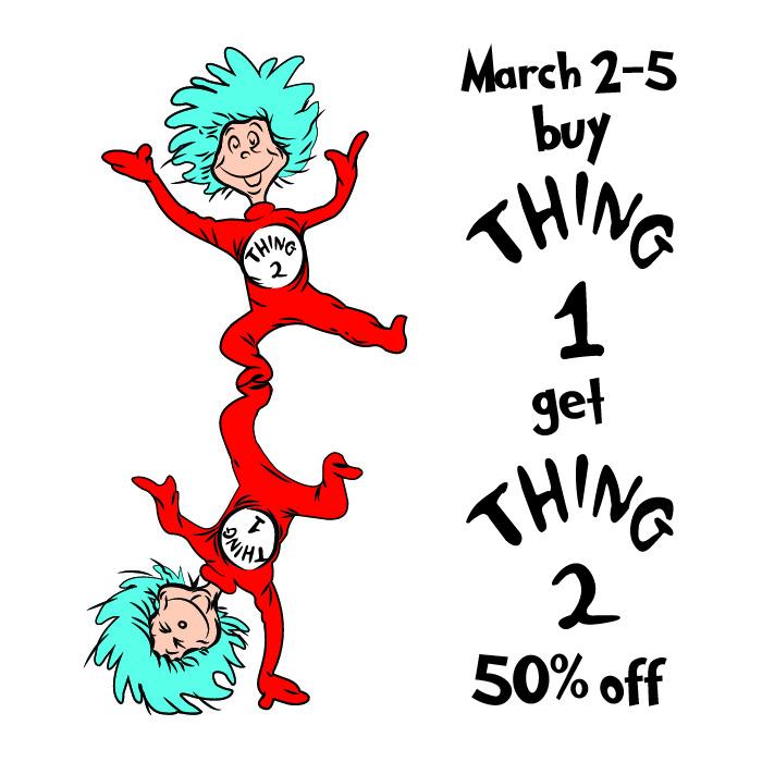 700x700 March 2 5 Dr. Seuss Birthday Event