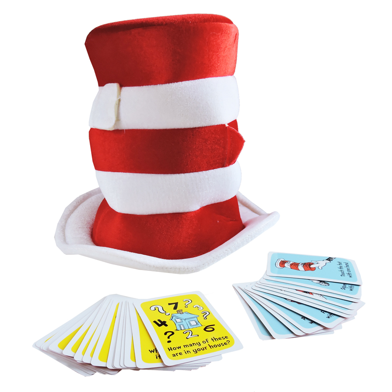 800x800 Dr Seuss What's In The Cat's Hat Game The Toy Factory Shop