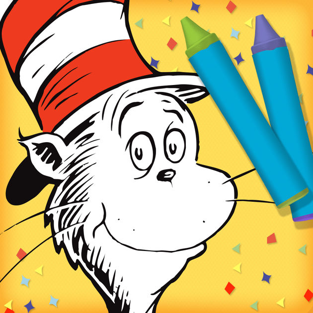 630x630 Dr. Seuss's The Cat In The Hat Color Amp Create! On The App Store