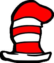 173x205 Dr Seuss Hat Clip Art