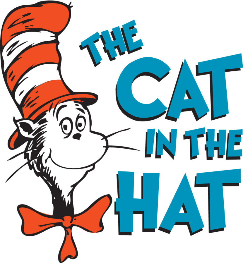 830x899 Cat In The Hat Clipart