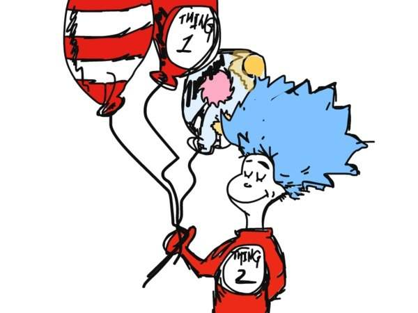 600x450 Cat In The Hat Dr Seuss Birthday Cake Clip Art Image
