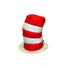 225x225 Dr. Seuss Style Red And White Striped Felt Stovepipe Cat In