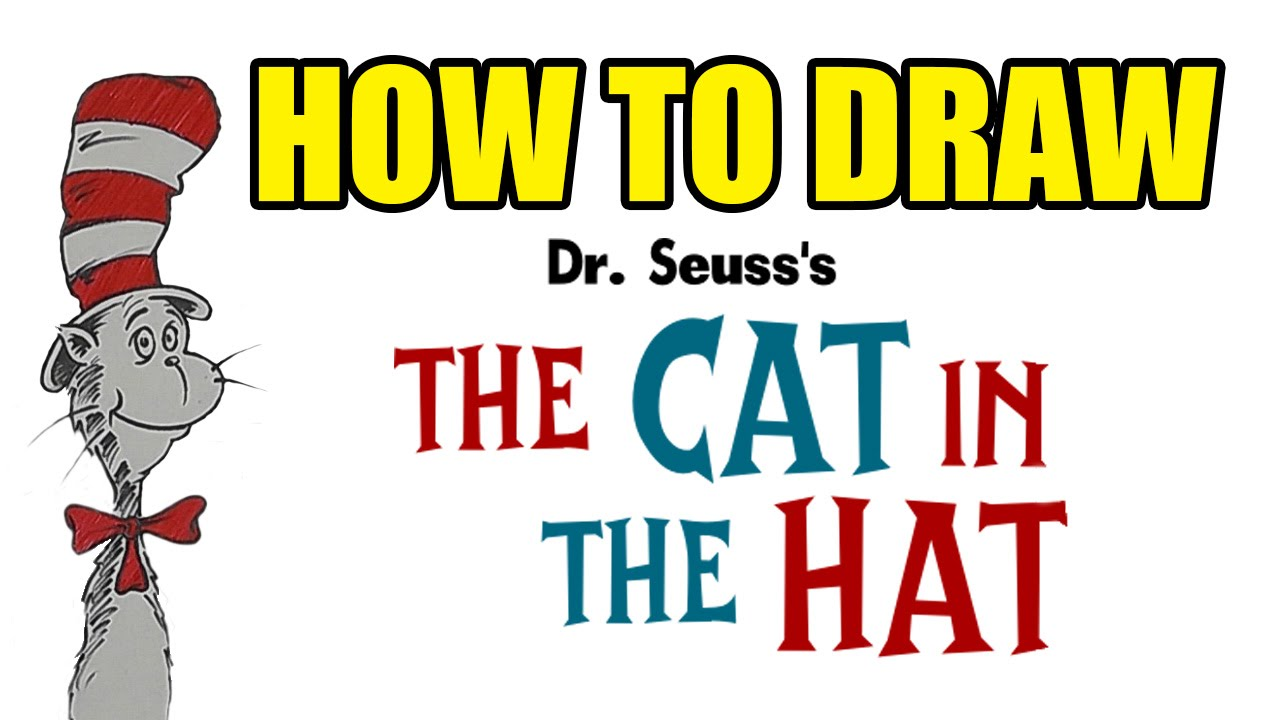 1280x720 How To Draw Dr Seuss Cat In The Hat