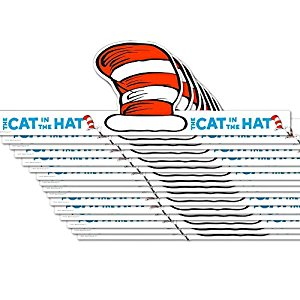 300x300 Dr. Seuss Cat In The Hat Party Hats, 16 Count, Party