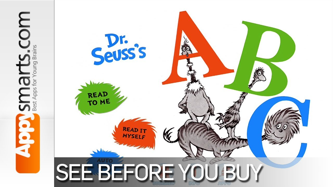 1280x720 Dr. Seuss's Abc App Playthrough [Ages 2 , Ipad, Iphone, Android