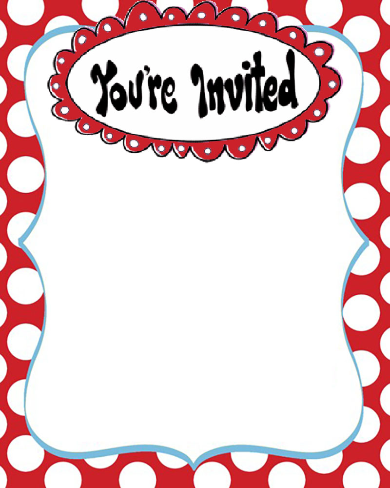 800x1000 Dr Seuss Free Printable Invitation Templates