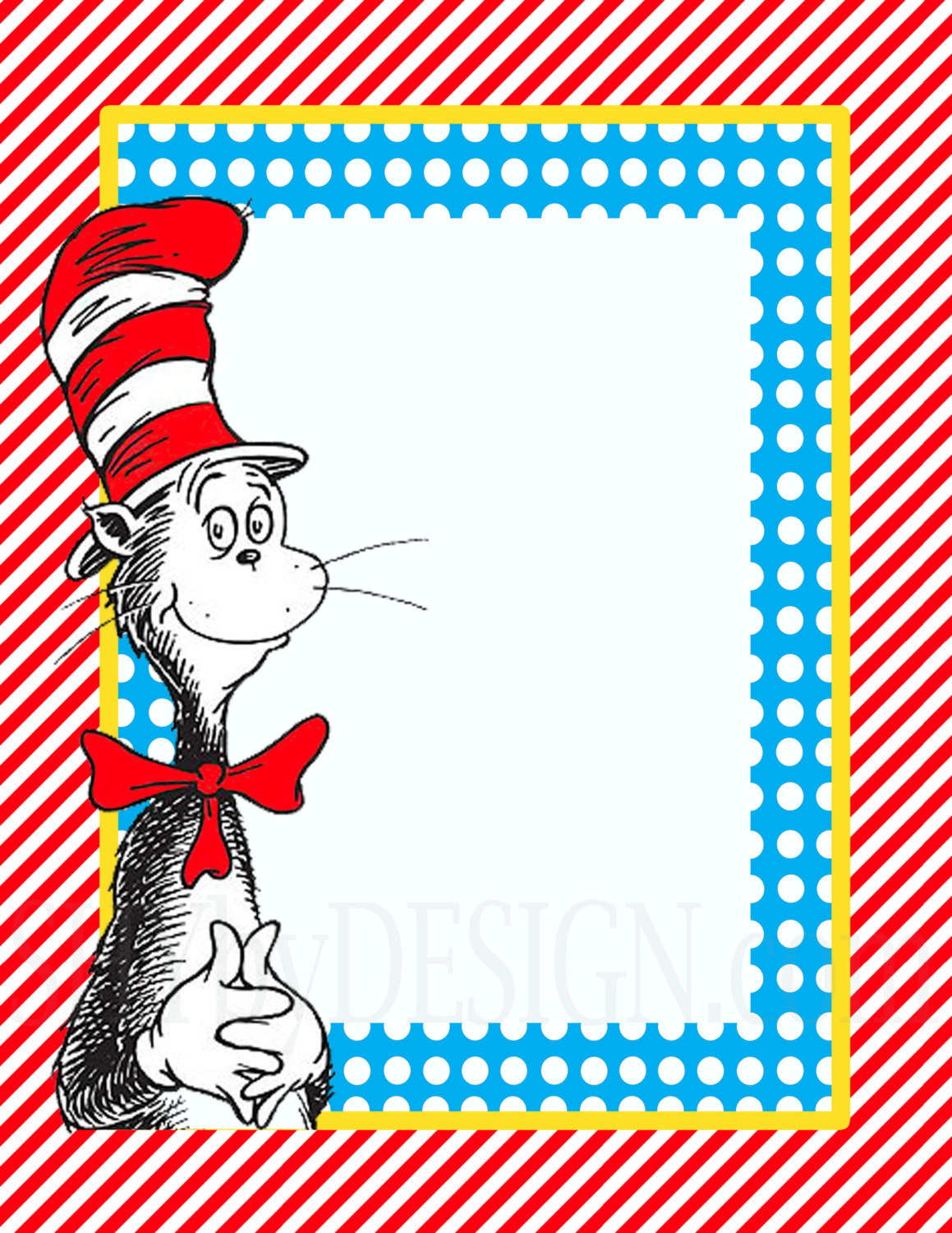 1159x1500 Dr Seuss Powerpoint Background