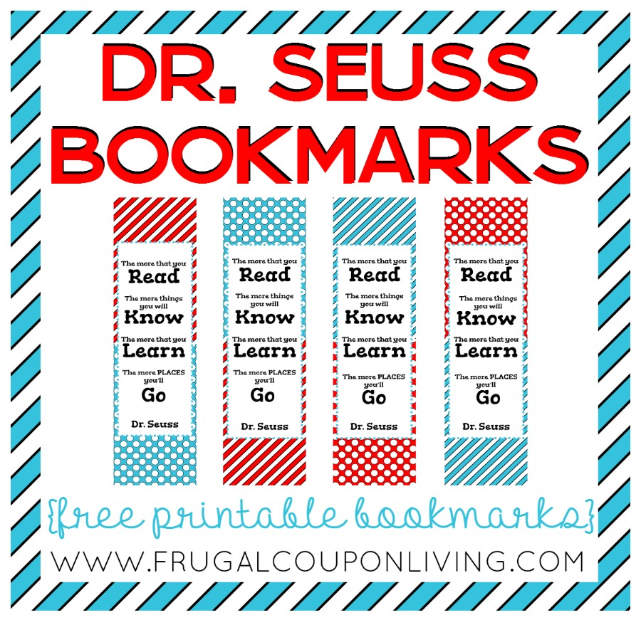 900x878 Free Printable Dr Seuss Bookmarks