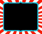 180x148 Free Dr Seuss Border Inspired Frame