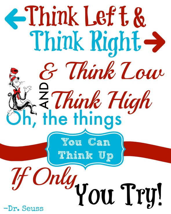 590x738 Free Printable Dr. Seuss Quote