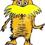 150x150 The Lorax Clipart Dr Seuss Clip Art Lorax Clipart Library Free