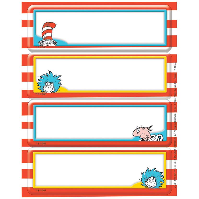830x830 Dr Seuss Border