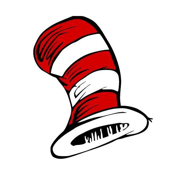 600x600 Dr Seuss Hat Clip Art