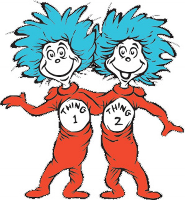 640x691 Dr Seuss Coloring Pages Thing 1 And Thing 2 Thing One And Thing