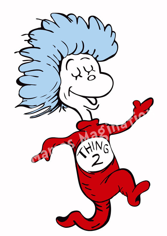 570x803 Dr.seuss Thing 1 And Thing 2 Printables Dr. Seuss Inspired Thing