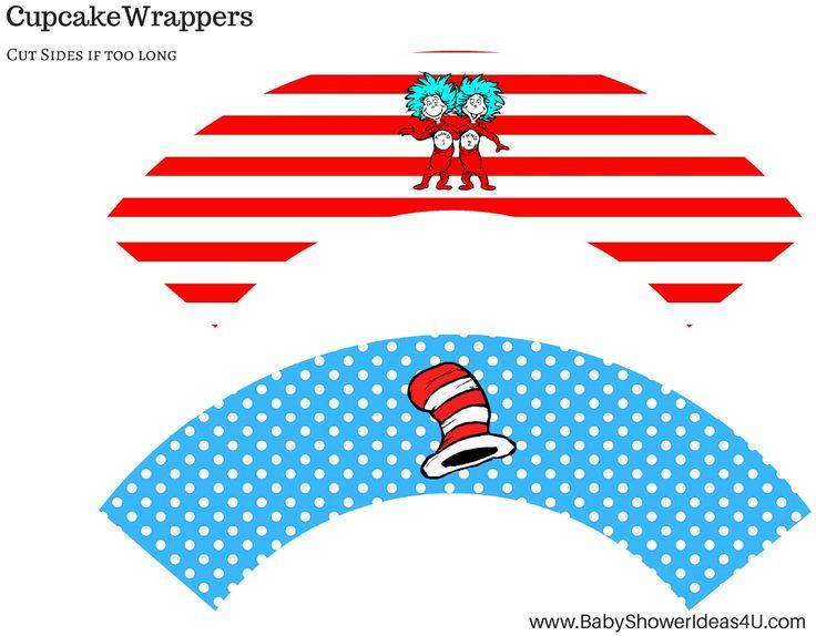 736x574 330 Best Dr. Seuss Printables Images Cupcake