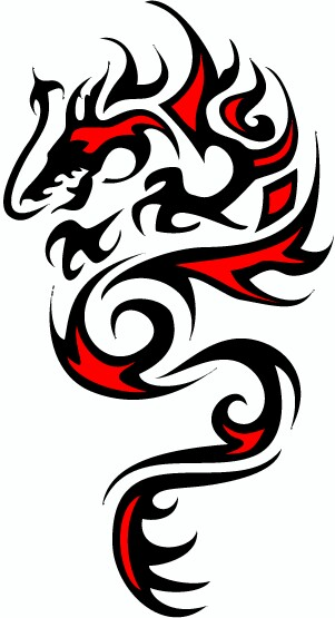 301x555 Cool Celtic Tribal Snake Tattoo Designs Many Kinds
