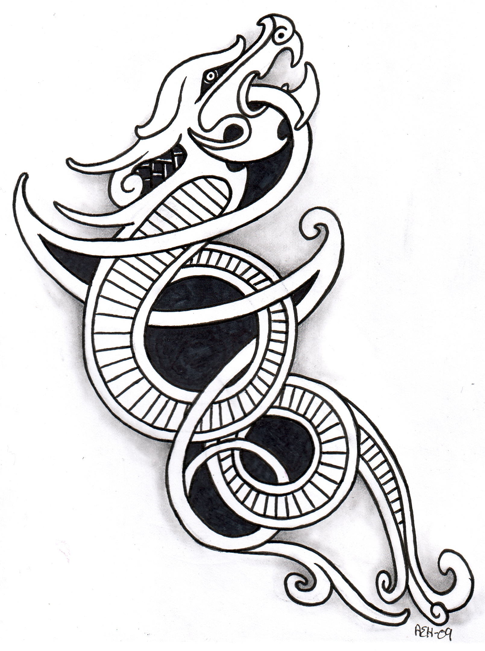 1609x2159 Norse Tattoos