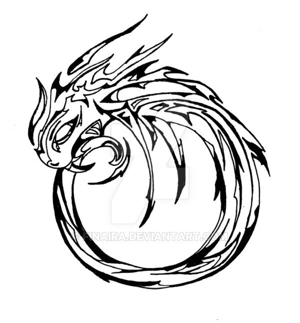 600x646 444 Best Ouroboros Infinity Snake Dragon Images