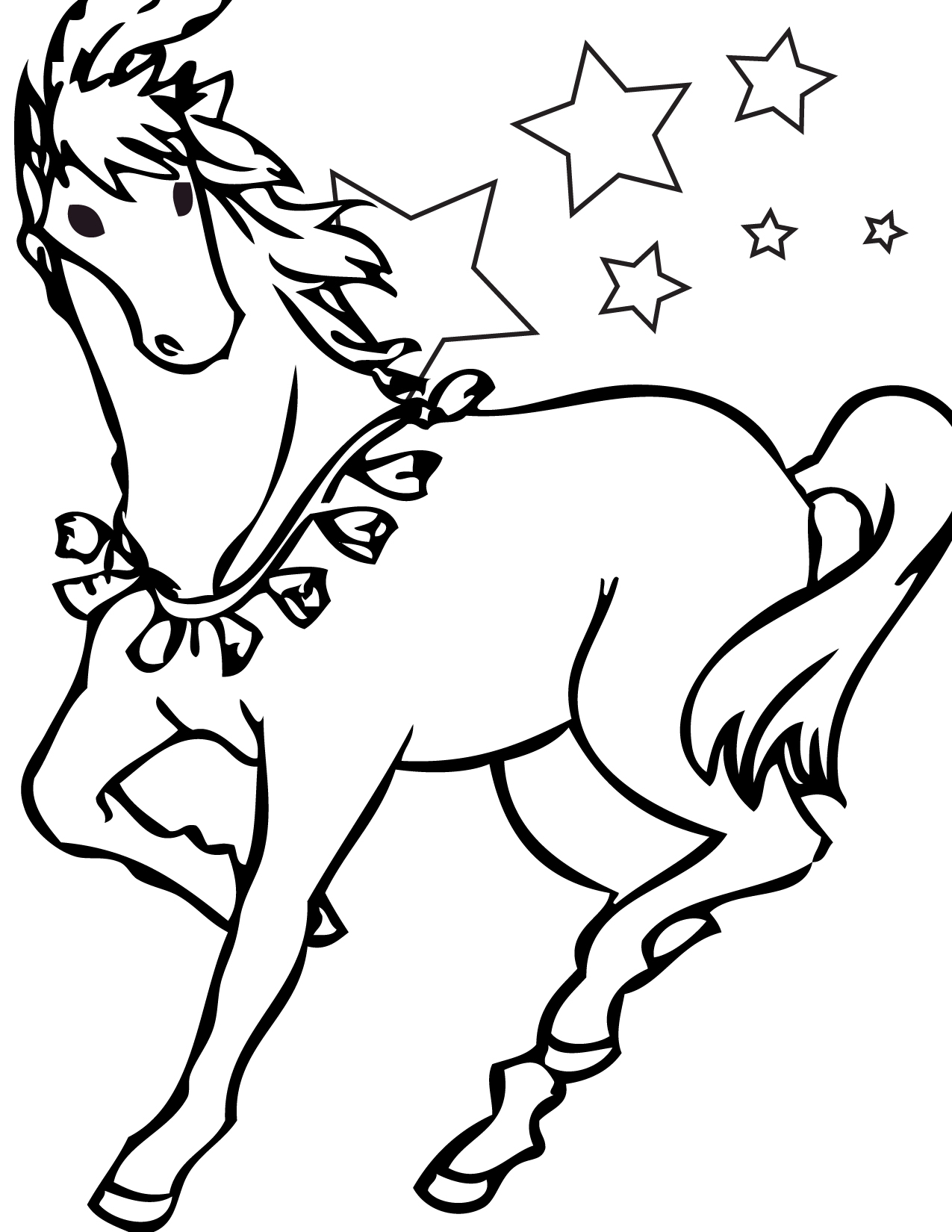 1275x1650 Trend Printable Coloring Pages Of Horses 53 For Seasonal Colouring