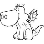 140x140 Clip Art Image Gallery Similar Image Cartoon Dragon Dancing