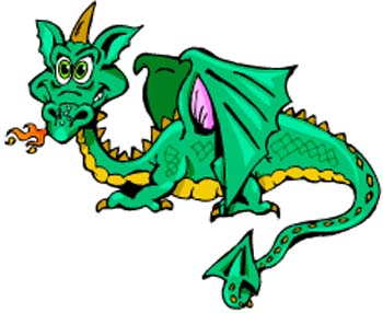 350x286 Dragon clip art images free free clipart images 6