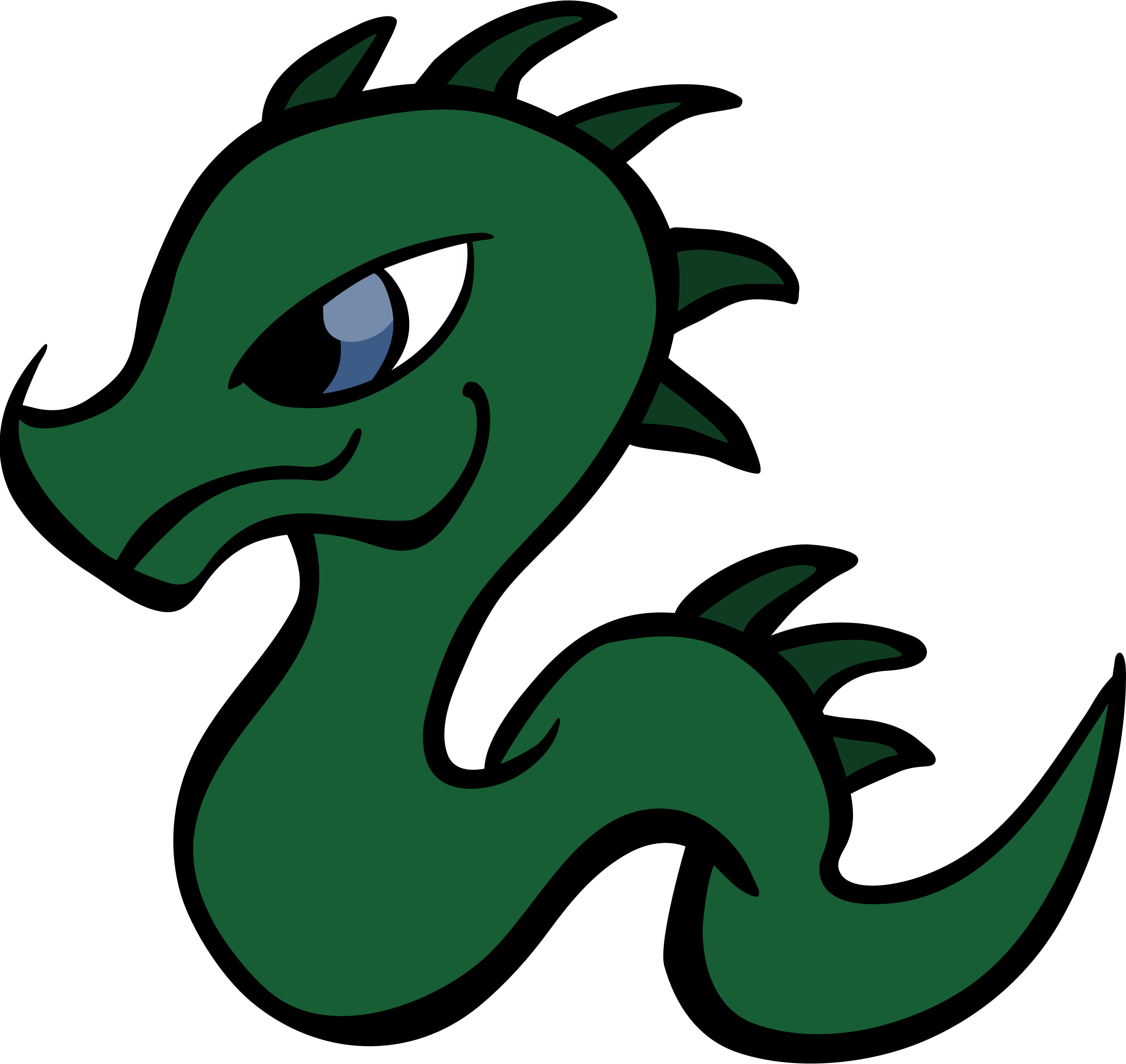 2400x2266 Dragon clipart baby dragon