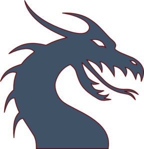 288x298 Blue Dragon Clip Art