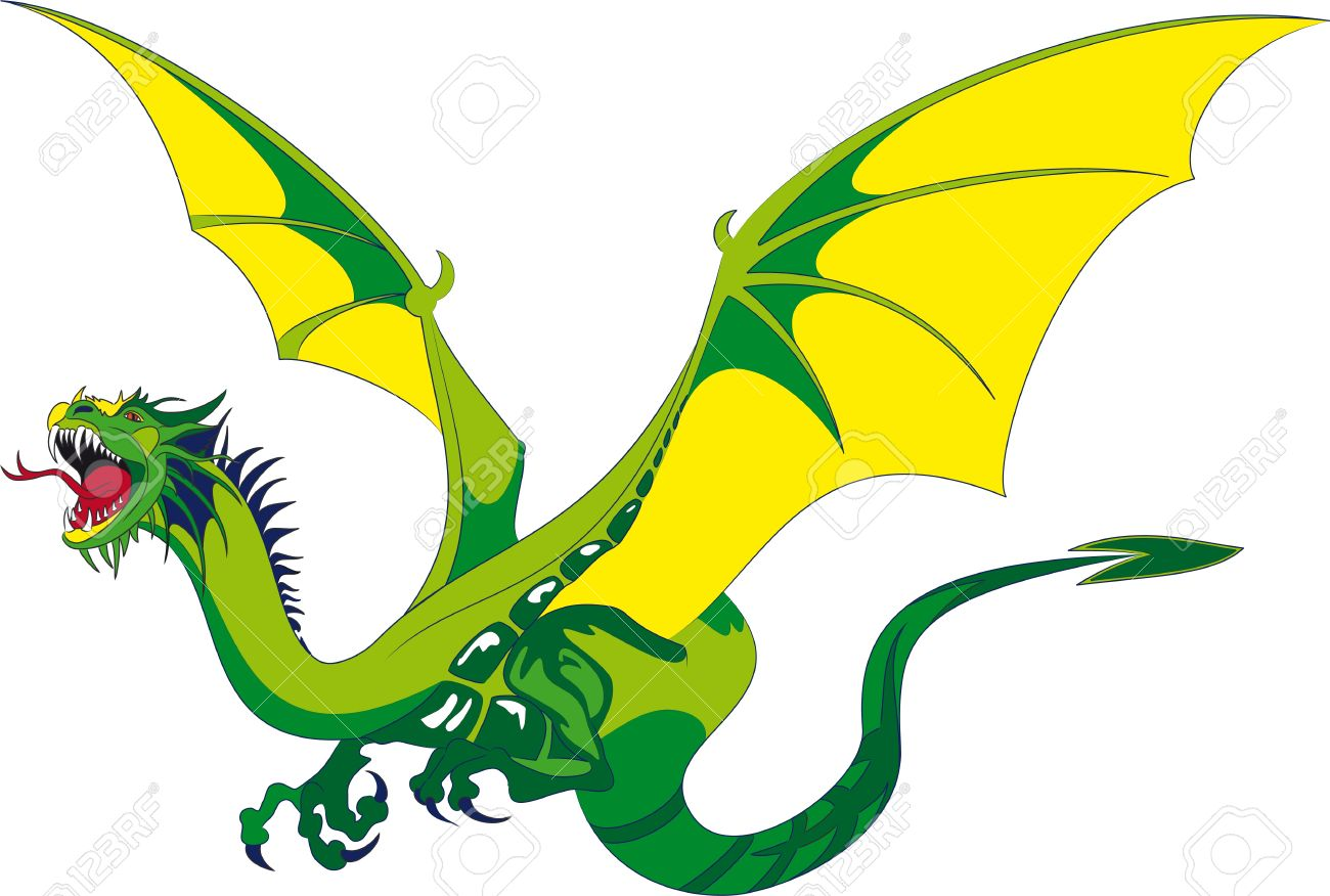1300x876 Dragon Clipart Medieval Dragon