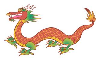 325x203 Chinese dragon clip art