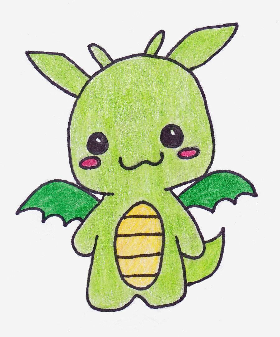 900x1080 Cute Drawings Of Dragons Cute Dragon Drawings Free Download Clip