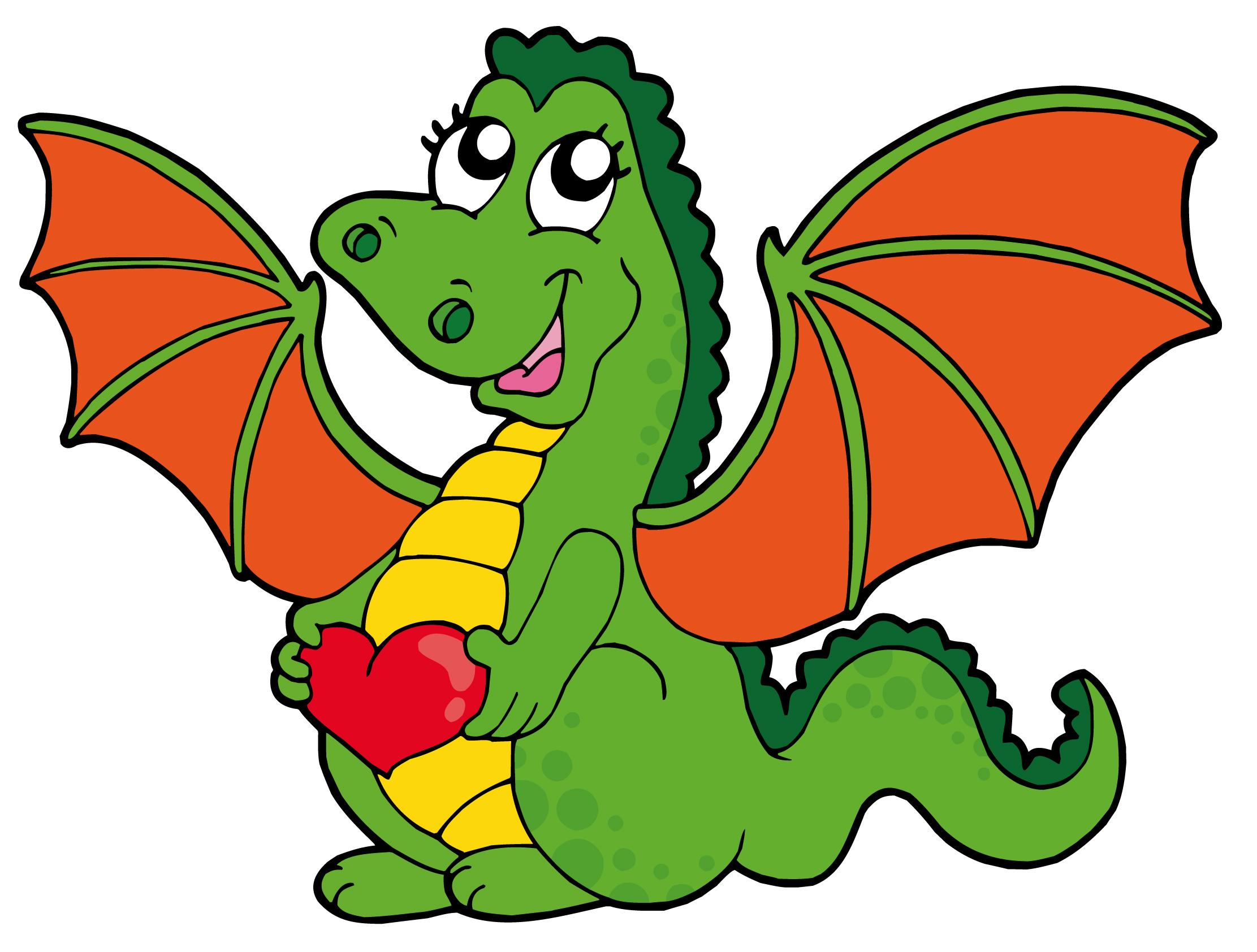 2223x1684 Cute Cartoon Dragon 01 Vector Free Vector 4vector