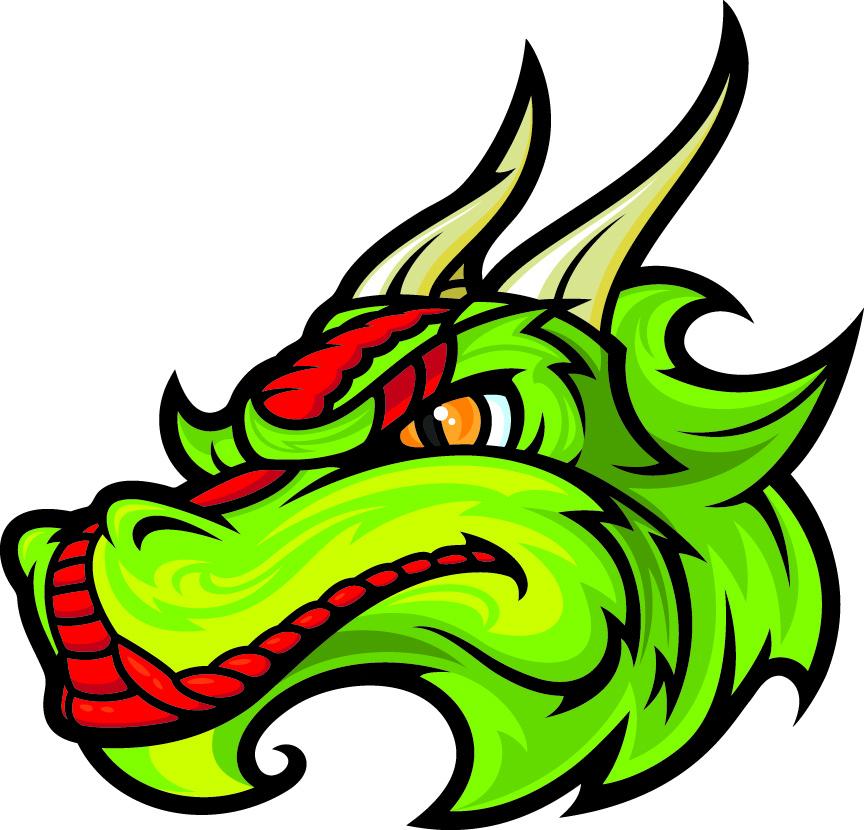 864x830 Chinese Dragon Clipart Head