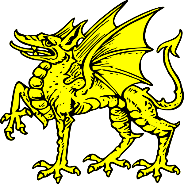 600x600 Dragon Symbol Clipart