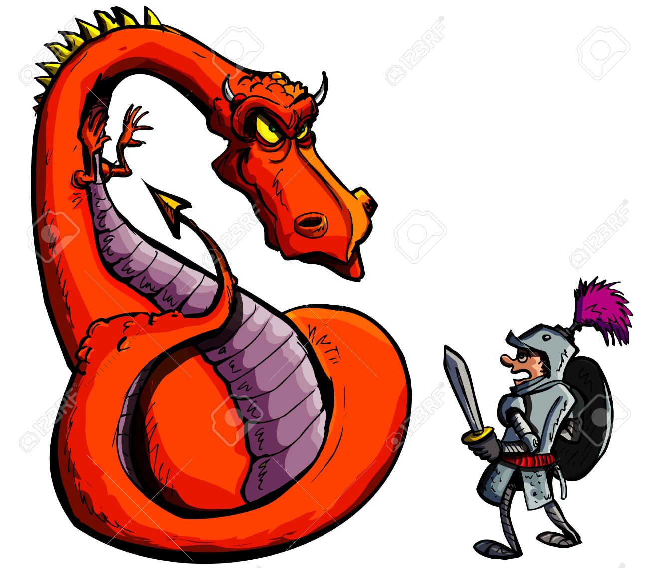 1300x1137 565 Fierce Dragon Stock Illustrations, Cliparts And Royalty Free