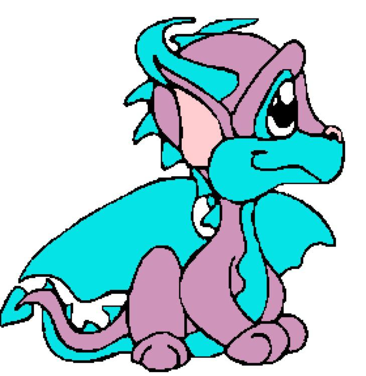 729x749 Purple Kids Cute Dragon Clipart
