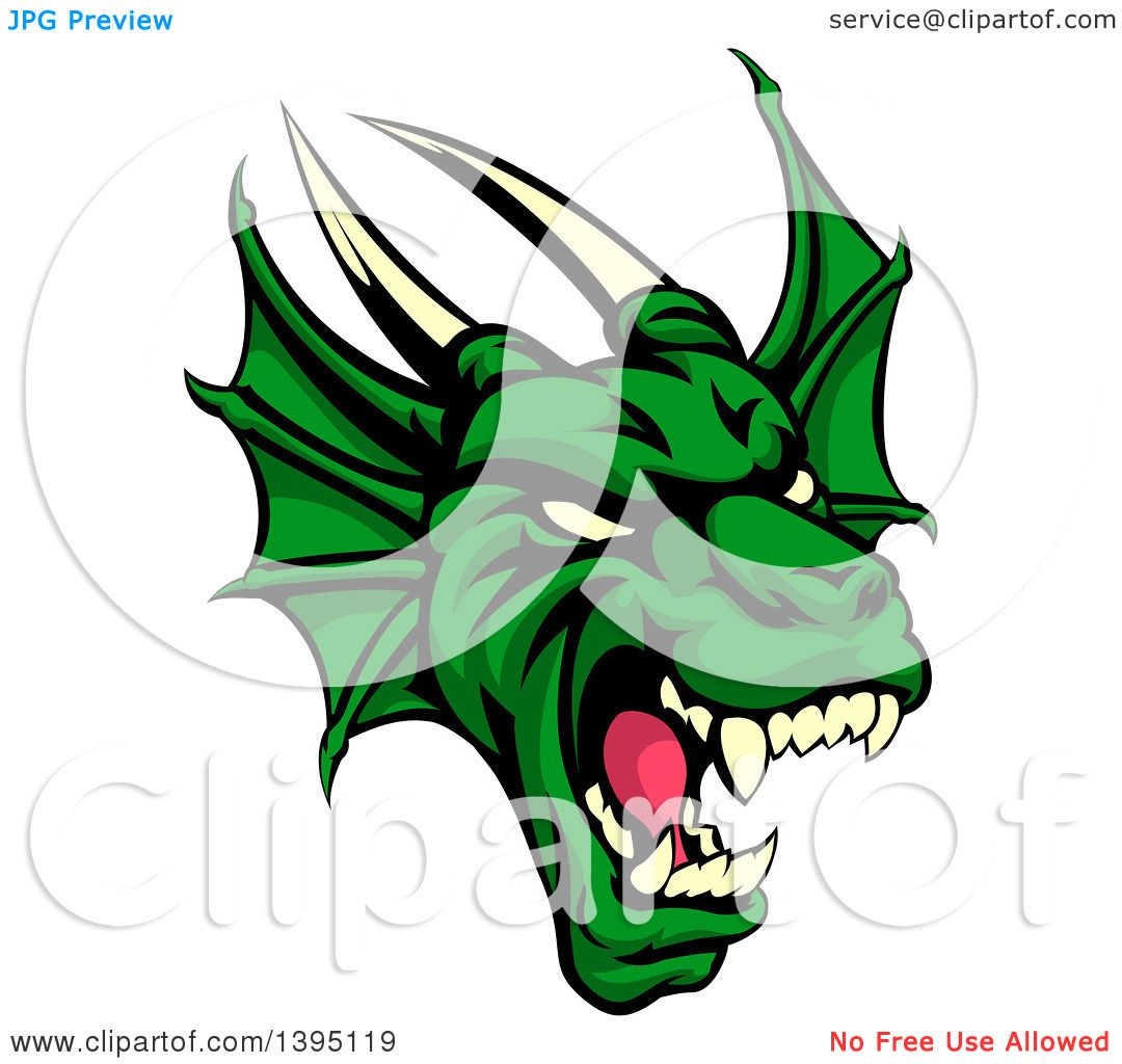 1080x1024 Royalty Free (Rf) Clip Art Illustration Of A Fast Flaming Dragon