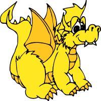 200x200 Top Dragon Clip Art Free Clipart Image 4