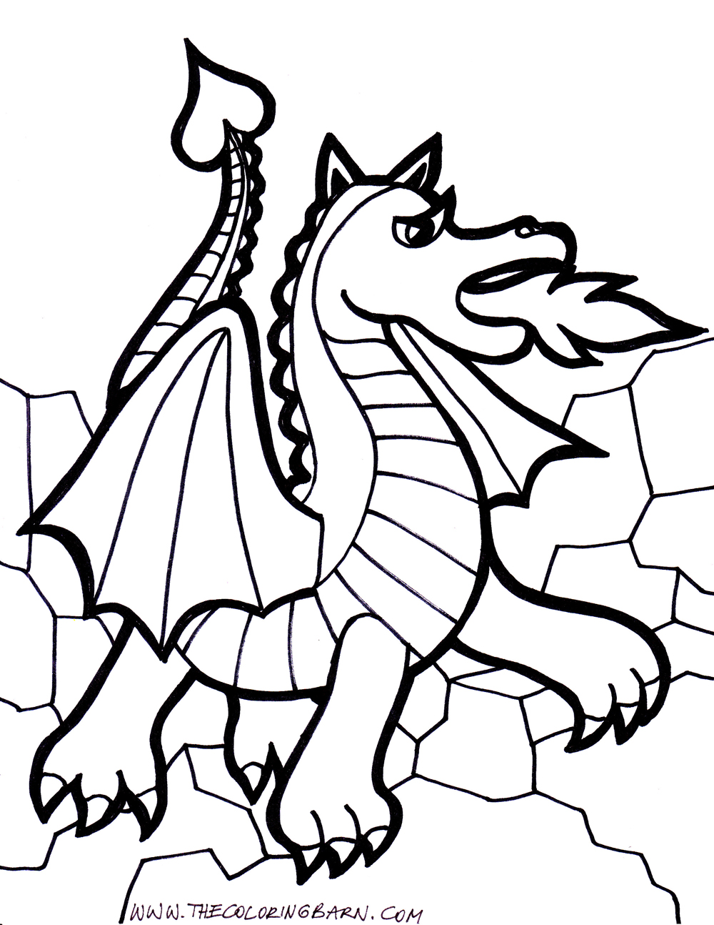 1000x1294 download coloring pages dragon coloring page dragon coloring - Coloring Page Dragon