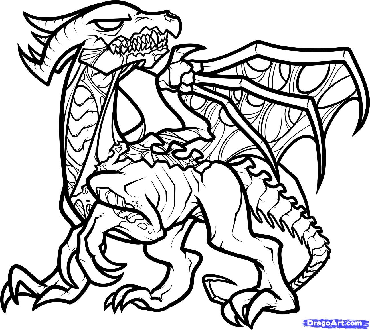 Dragon Coloring Pages | Free download on ClipArtMag