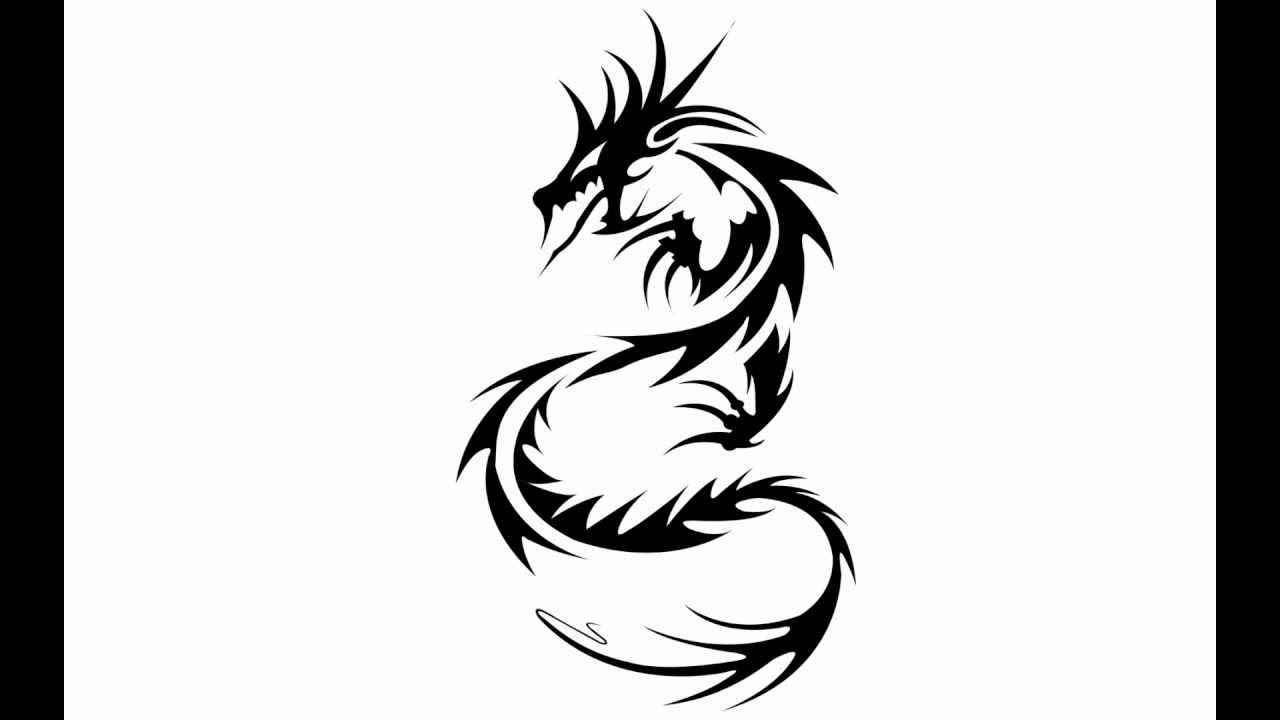 1280x720 How To Draw A Dragon Tattoo