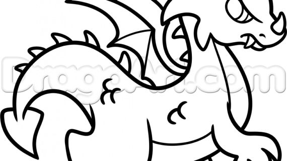 Dragon Drawings Black And White Free Download Best Dragon Drawings